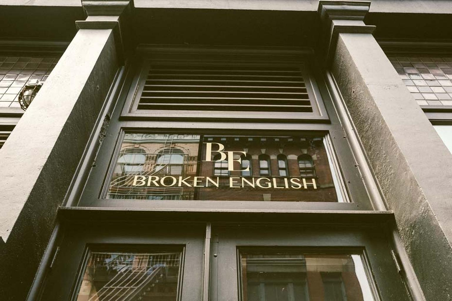 Yossi Harari, Nicholas Lieou and Pippa Small are among the brands exclusive to Broken English in New York.