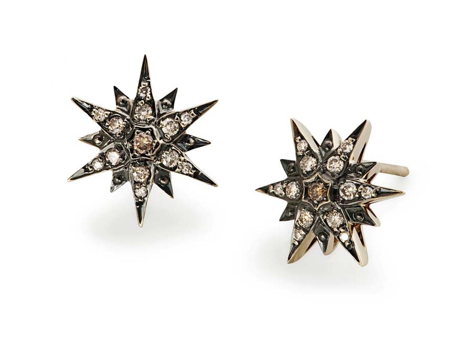 H.Stern Star collection diamond earrings.