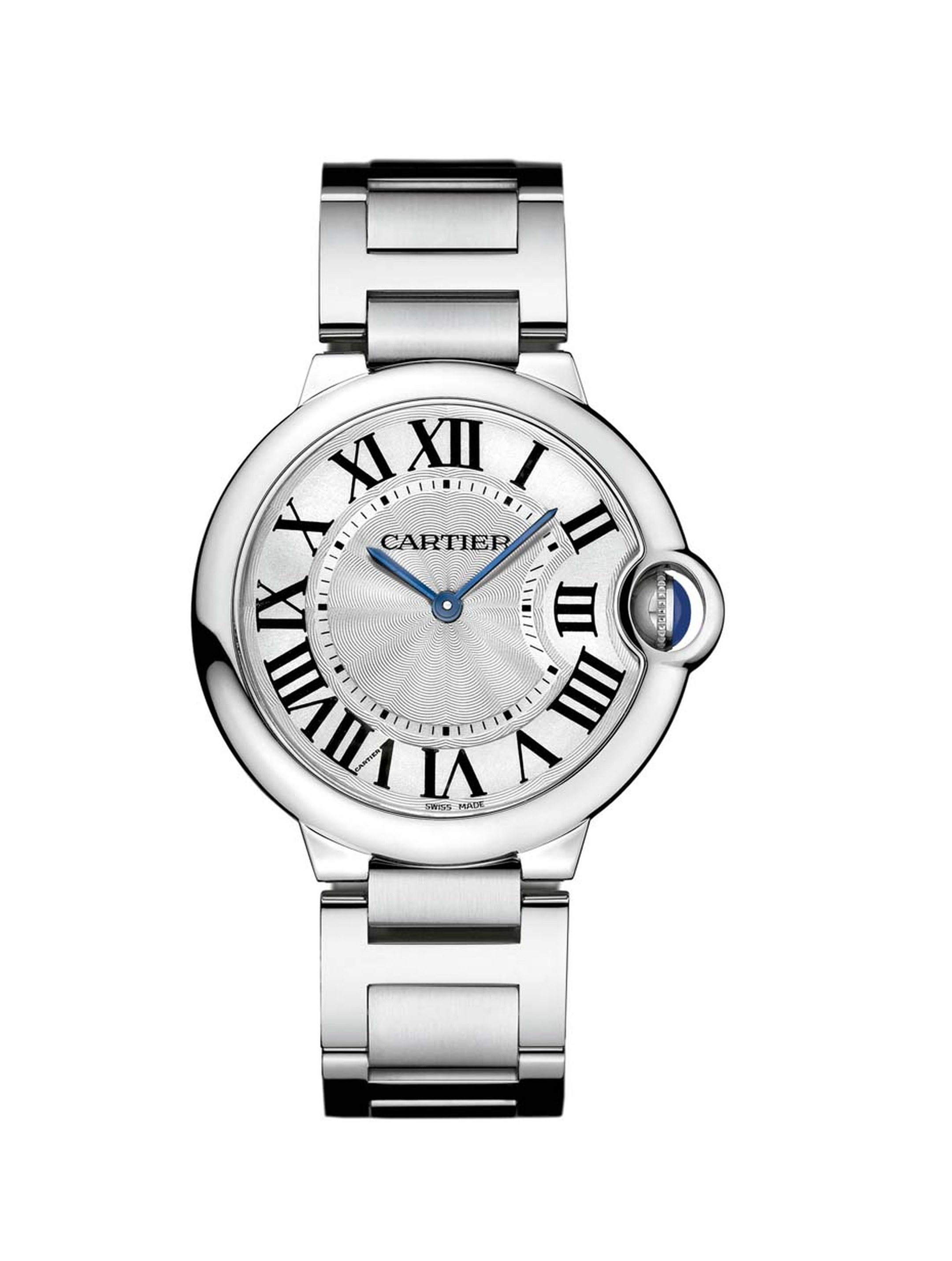 The Ballon Bleu de Cartier watch, released in 2007, is another classic in the making with beautiful curves and rounded edges that give the watch a unique sensation of buoyancy (£3,850).