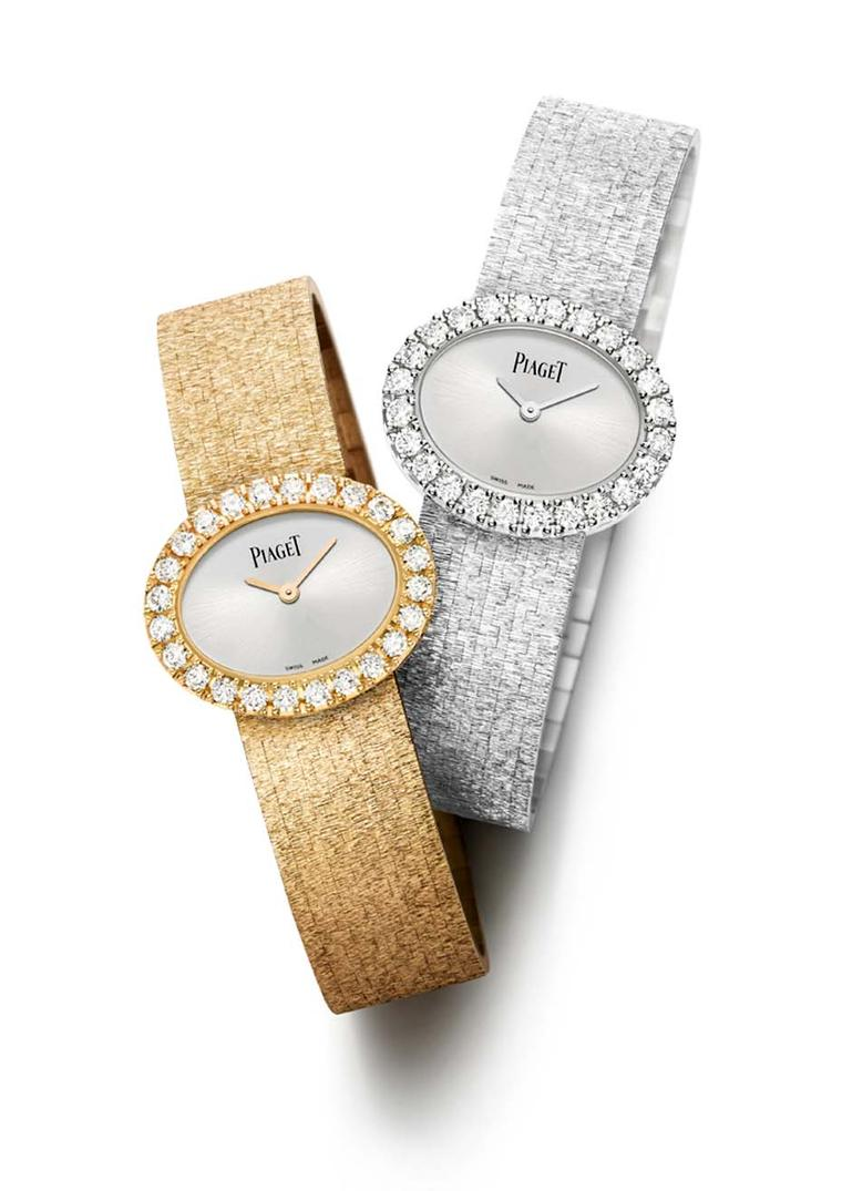Piaget's traditional Gold Oval watches quickly became favourites of women like Jackie Onassis, Sophia Loren, Gina Lollobrigida and Mireille Mathieu.