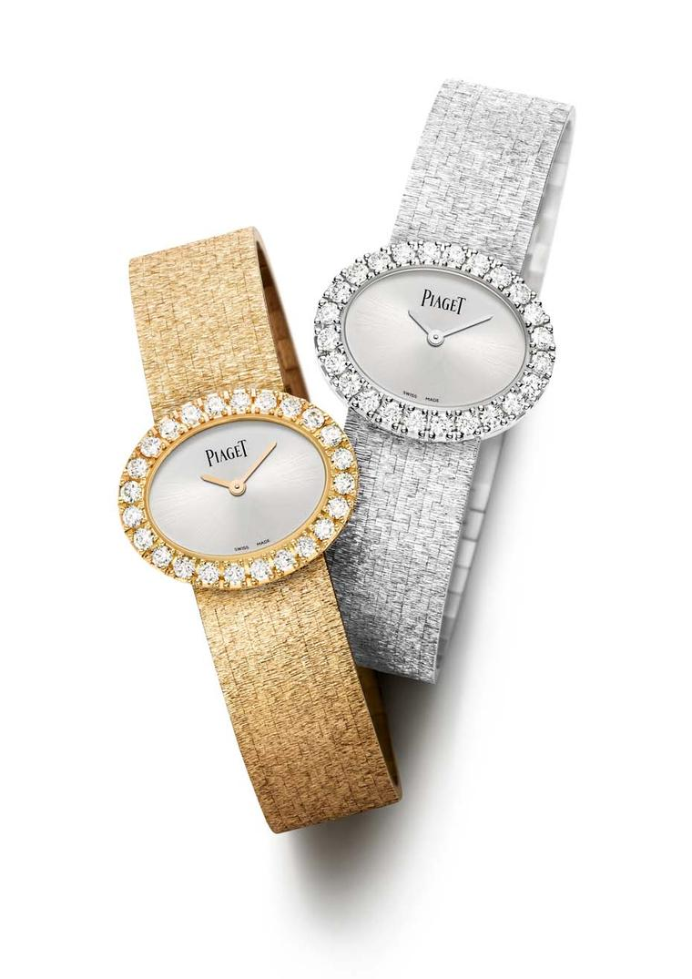 "Two months before the official launch at SIHH, Piaget has decided to share two of its stars for 2015. Hailed as the return of ""vintage icon watches"", Piaget has taken a trip down memory lane with the re-edit two famous pieces from the 1960s and 70s, inclu"