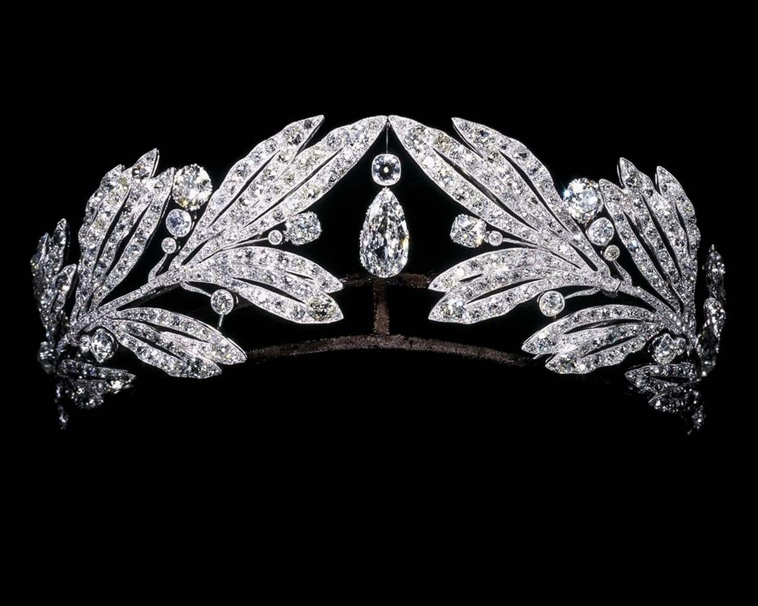A Cartier diamond tiara is one of more than 250 pieces created between 1900 and 1975 that are on show at Cartier's dazzling Brilliant exhibition in Denver. © Cartier.