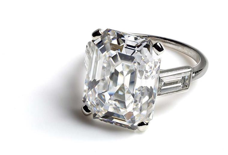 The Cartier Brilliant exhibition's glittering finale - Icons of Style - features pieces that would come to define some of Cartier's most famous clients, including Princess Grace's 10.48 carat diamond engagement ring, which stages an appearance in the 1956