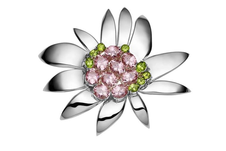 Jan Logan for Collette Dinnigan brooch.