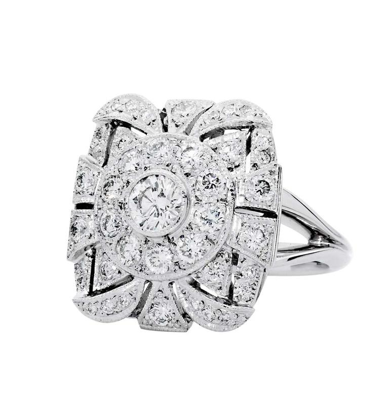 Jan Logan Rachel diamond ring ($7,500 AUD).