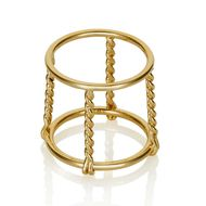 Coléoptère La Cage gold champagne ring. Available from Stone & Strand ($2,250).