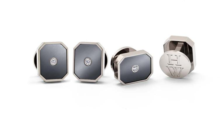 Jewelry for men: Harry Winston first to use the high-tech alloy Zalium in fine jewelry and accessories