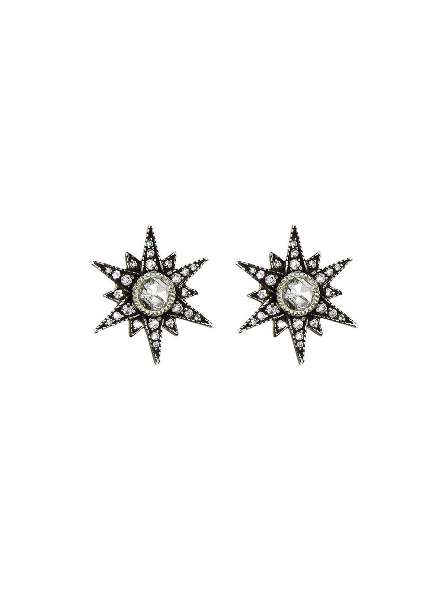 Arman Sarkisyan rose-cut diamond Star stud earrings ($4,070).