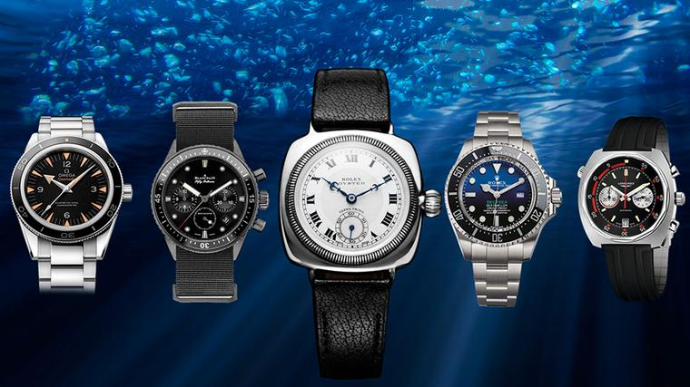Gift ideas for men: dive watches resurface with new technology and great looks