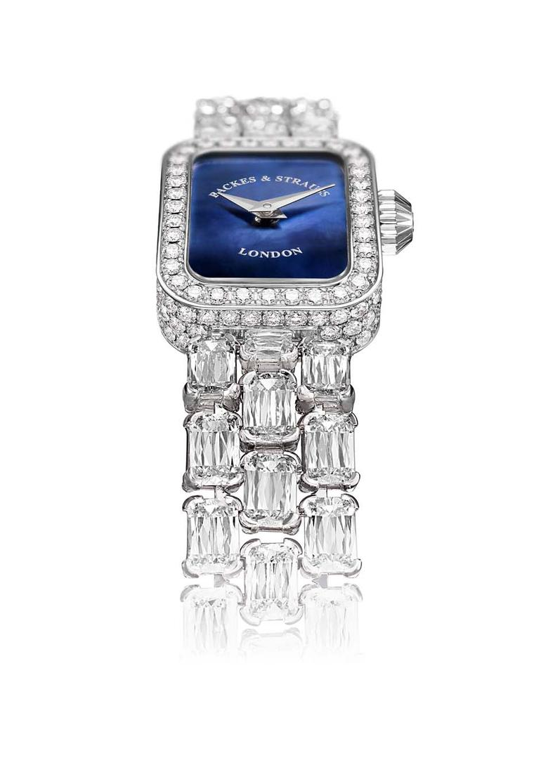 Diamond high jewellery watches: walking in a sparkling winter wonderland