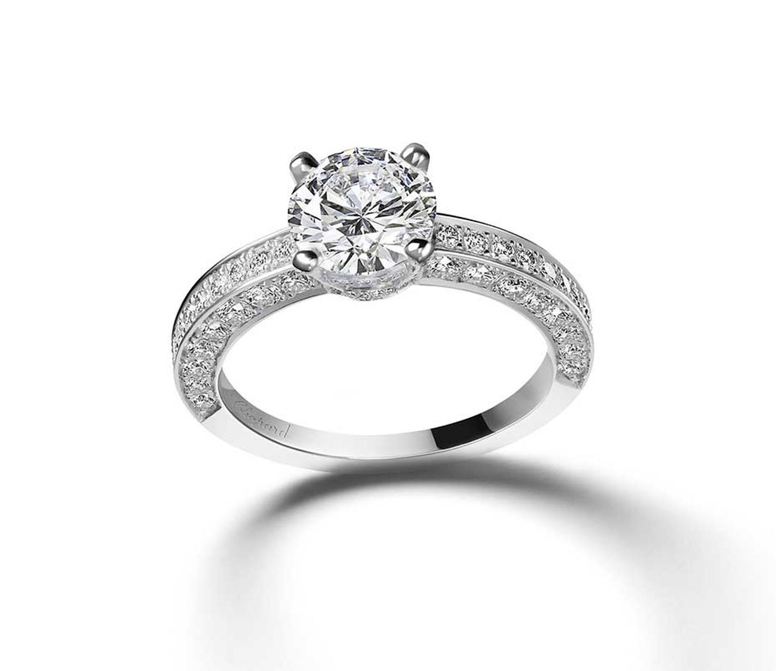 Chopard diamond engagement ring.