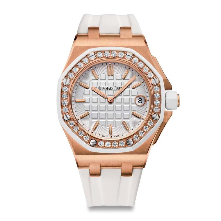 Audemars Piguet 37mm Royal Oak Offshore ladies watch