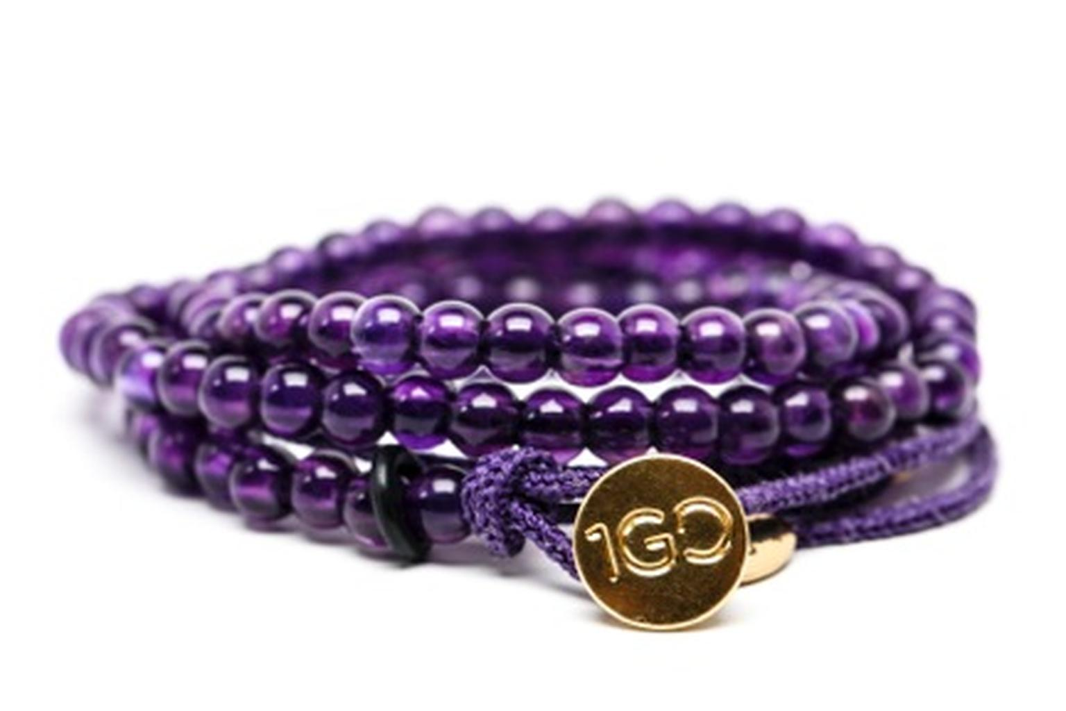 The Gemfields 100 Good Deeds bracelet is now available for purchase at www.100gooddeeds.org/gemfields.