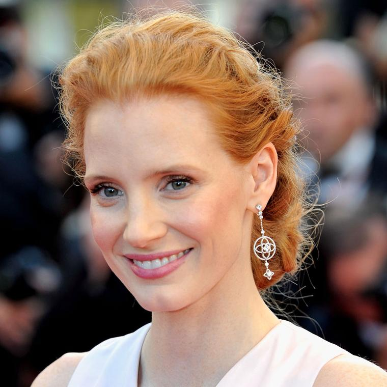 Jessica Chastain Louise VuittonMAINPIC