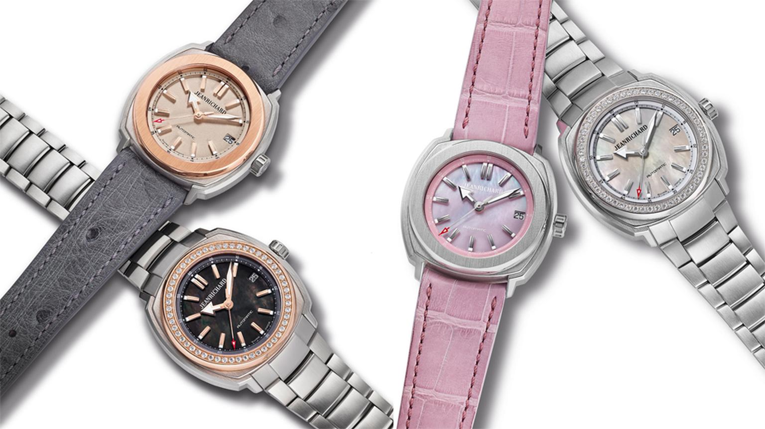 JeanRichard watches for women: size is important with the new Terrascope ladies watches