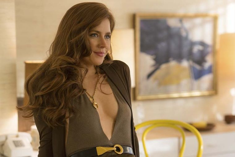 Gucci's iconic jewellery had a starring role in the stylish 1970s crime caper American Hustle. Starring Amy Adams, the actress was clad in Gucci accessories throughout the film, including a yellow gold horsebit necklace, earrings and bracelet.