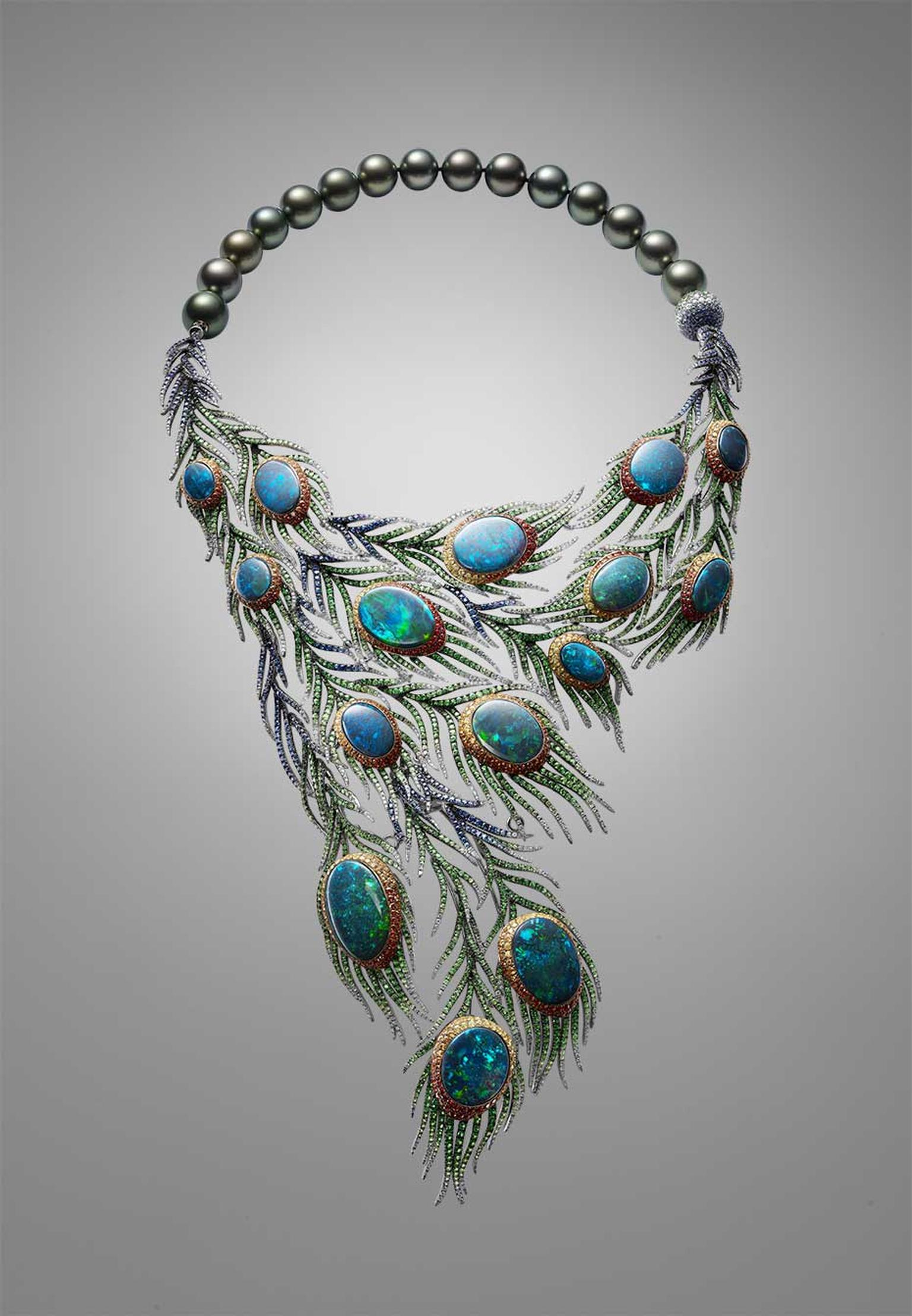 Alessio Boschi Plumes necklace