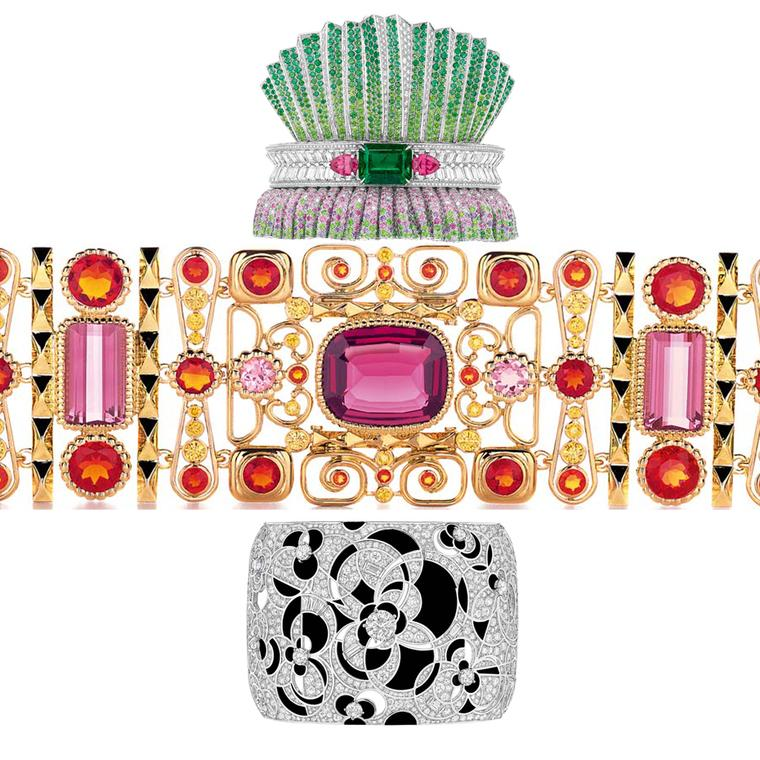 An army of arm candy, from elite high jewellery bangles to formidable cuff batallions parade on our list of this year's best bracelets for 2014.