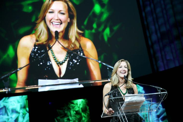 GEM Awards host Lara Spencer of ABC's Good Morning America.