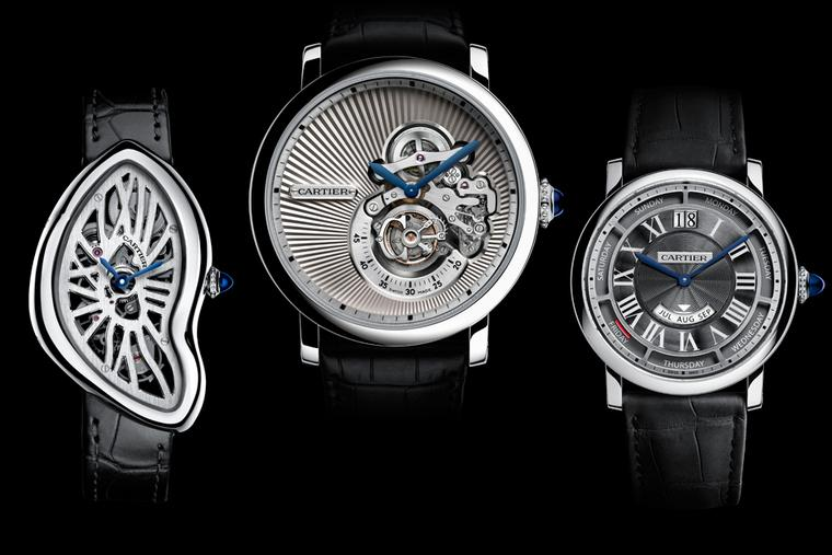 New Cartier watches: a sneak preview before the official unveiling at the SIHH 2015