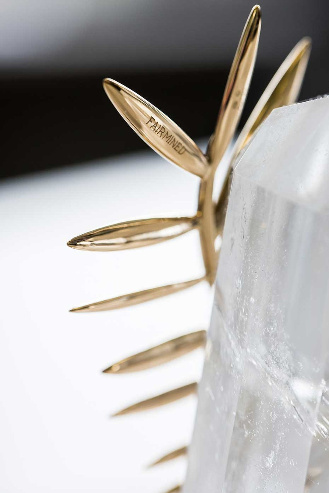 Chopard, which has been making the iconic trophy since 1998, announced in April 2014 that it had taken the decision to 'go green' at the Cannes Film Festival 2014 with the first Palme d'Or trophy in Fairmined gold.