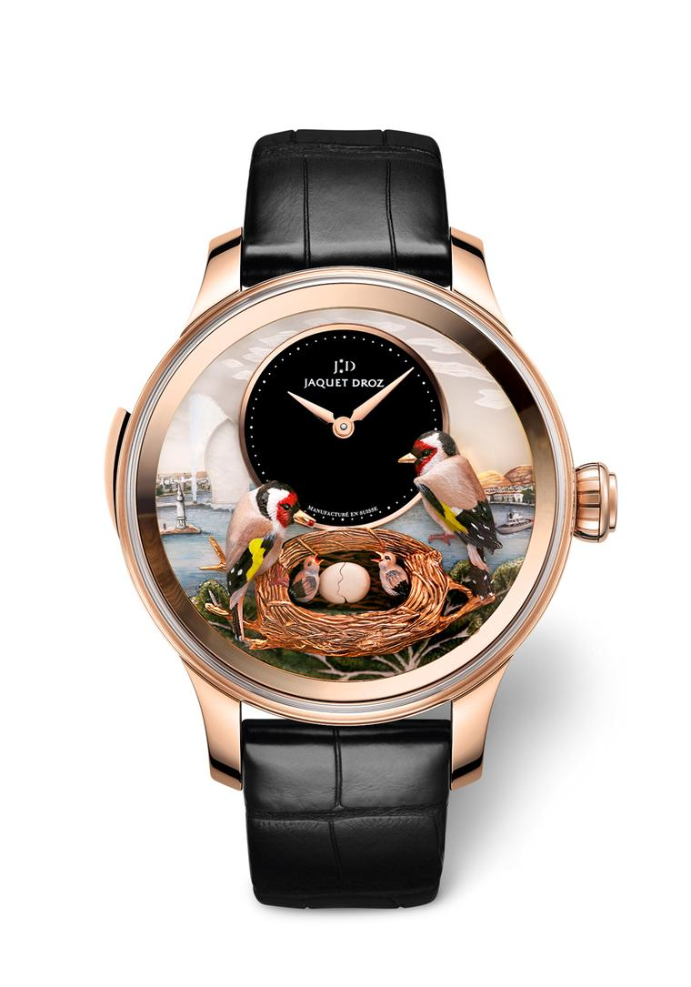 Jaquet Droz Bird Repeater Geneva: a miniature marvel of sound and motion