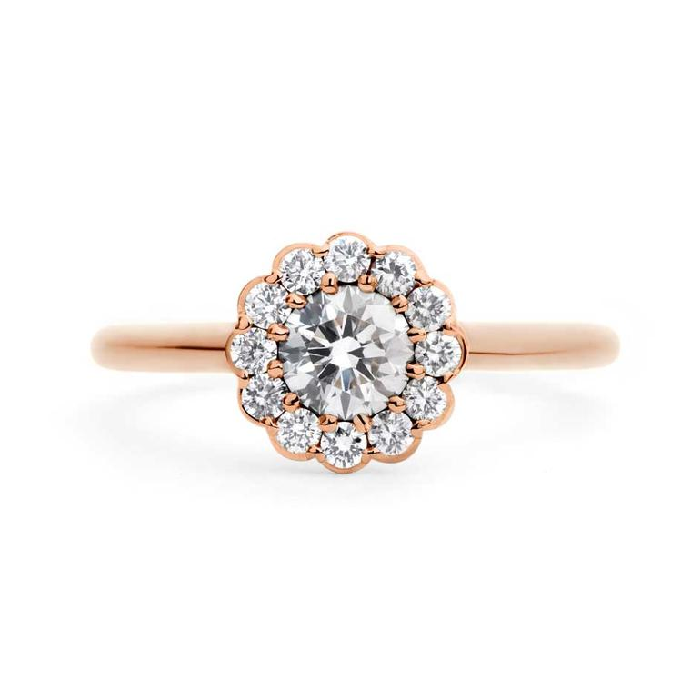 Rose gold engagement rings: the trend for flattering pink gold is here to stay