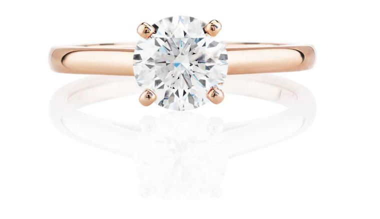 Rose gold engagement rings the trend for flattering pink gold is here to stay