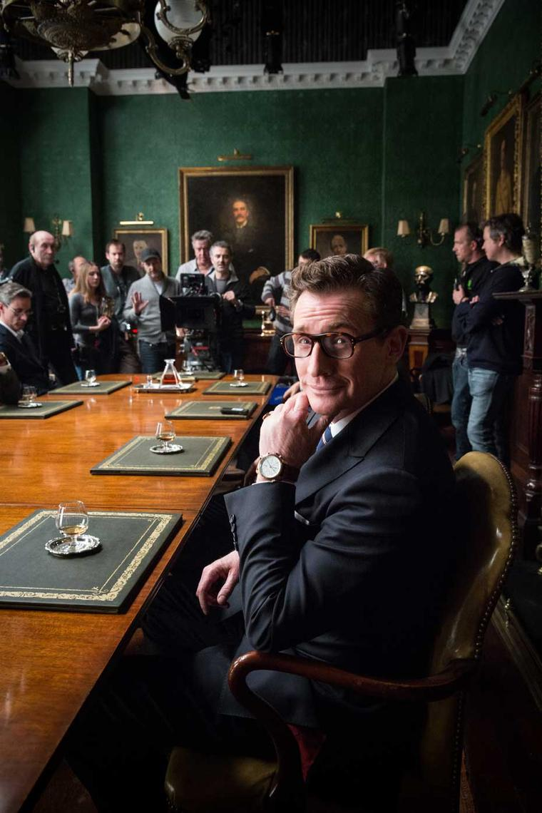 Bremont co-founder Giles English makes his cinematic debut in Kingsman: The Secret Service.