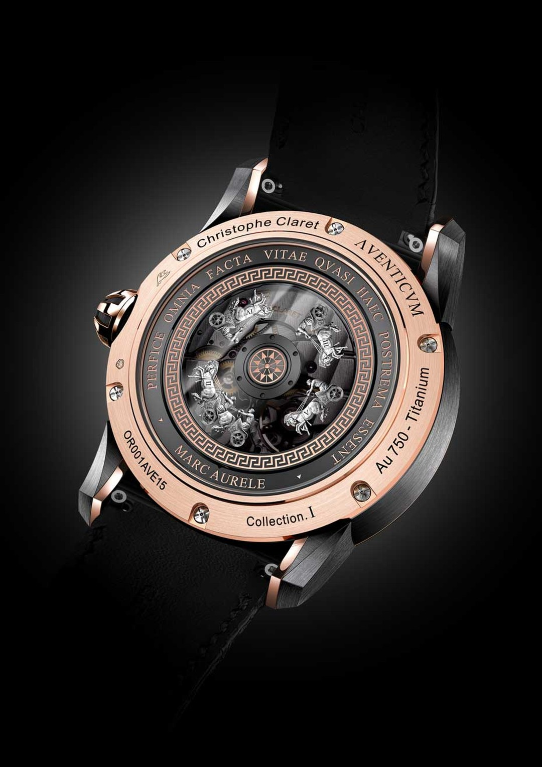 SIHH2015_Christophe Claret Aventicum Red Gold