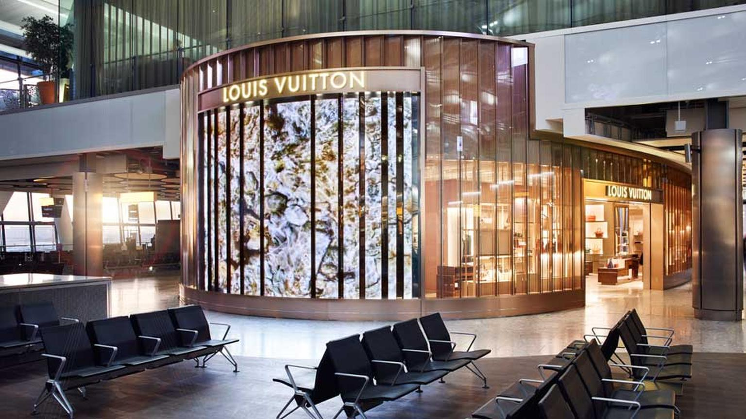 Louis Vuitton has commissioned French artist Ange Leccia to make a film depicting the Mediterranean Sea that will be shown on a screen attached to the shop's transparent exterior.