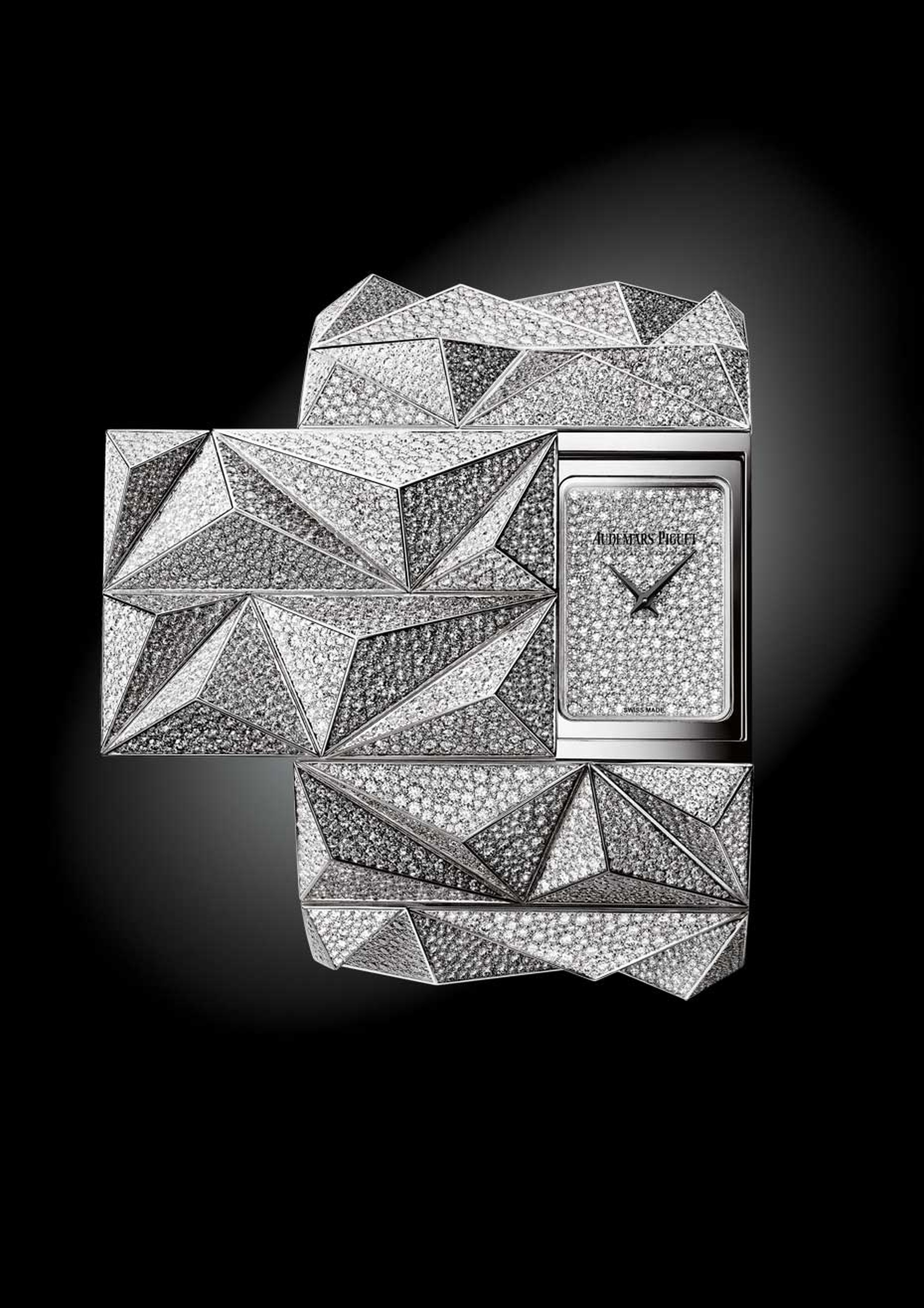 The new Audemars Piguet Diamond Punk watch, launched at the SIHH 2015, takes its inspiration from the punk era.