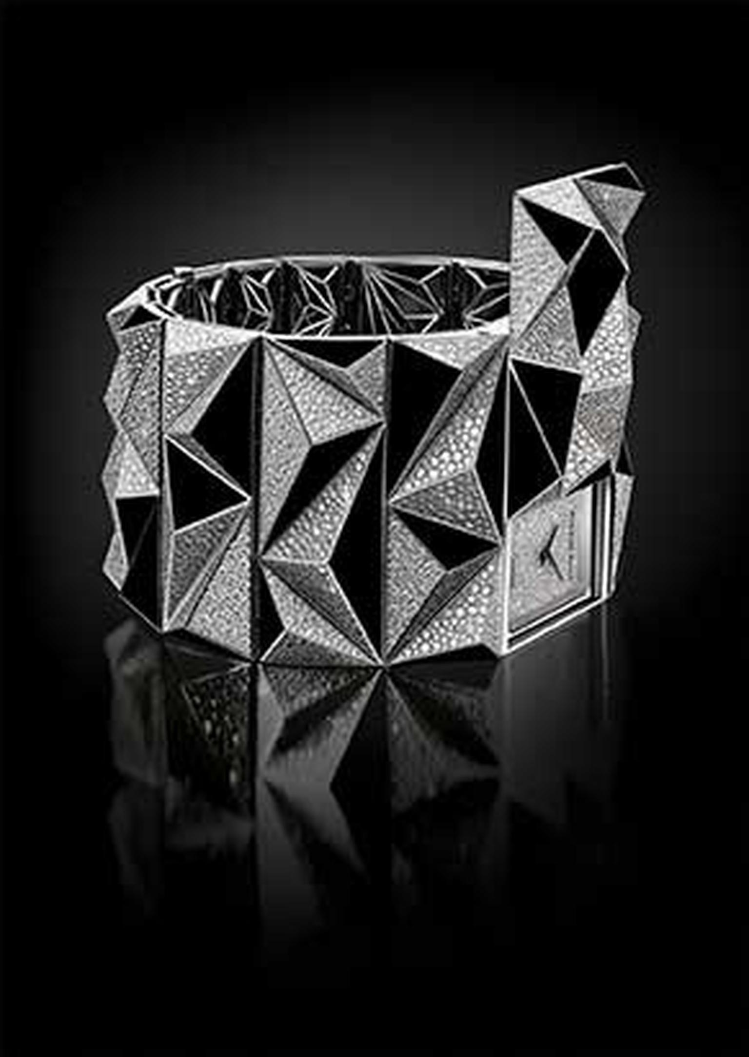 "Octavio Garcia, design director of Audemars Piguet, alludes to the ""subversive but creative"" aspect of punk culture as the source of inspiration behind this provocative new diamond watch."