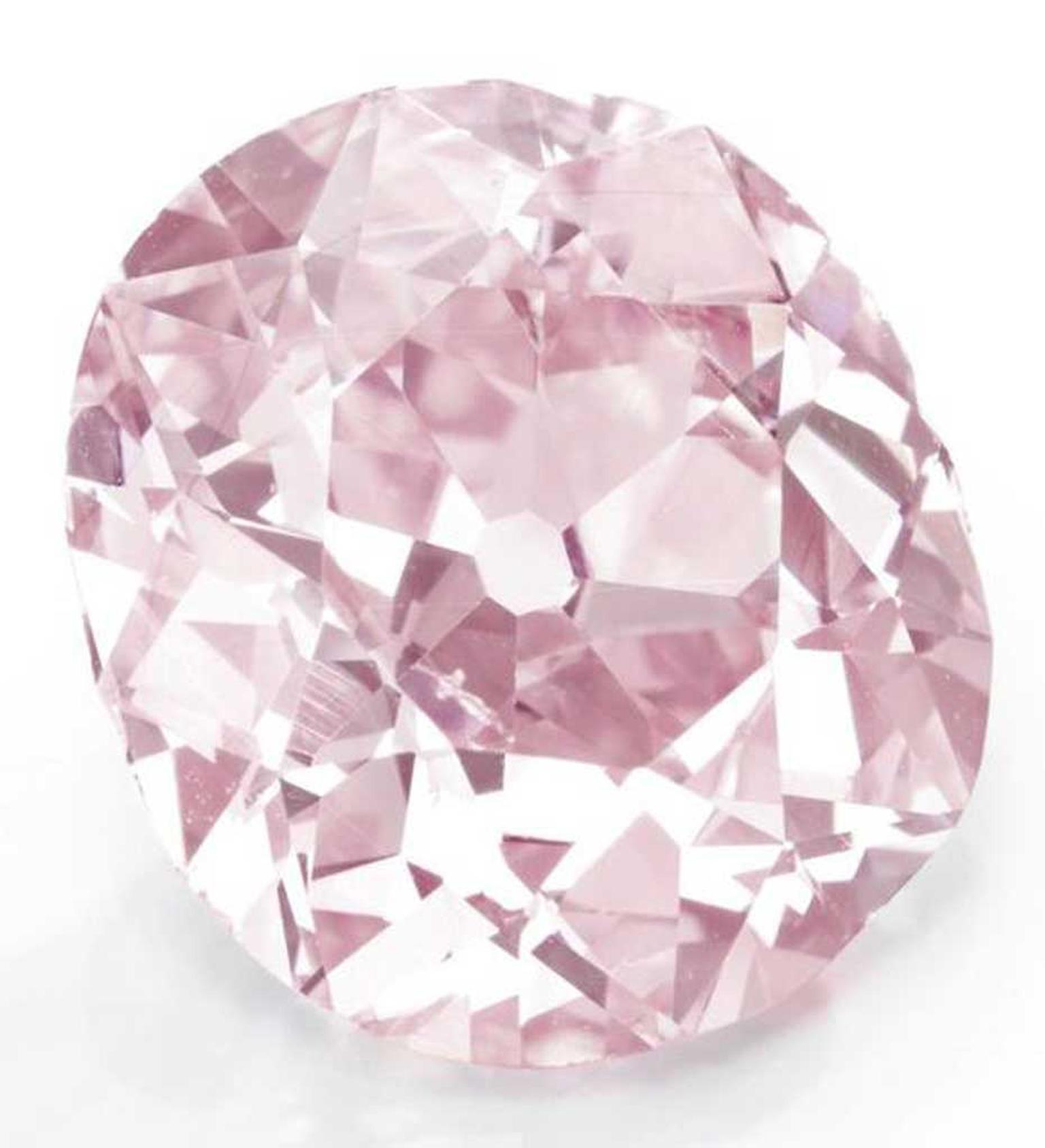 In 2012, Christie's New York sold a ring set with this 9.00 carat pink diamond from the turn-of-the-century from the estate of Huguette M. Clark for $15.7 million, making it the most valuable pink diamond ever sold at auction in America.