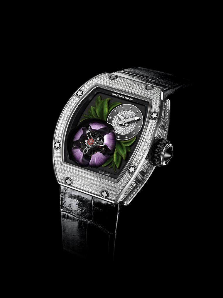 Show time with the Richard Mille Tourbillon Fleur high jewellery watch