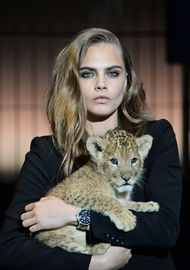 A fresh face with attitude: TAG Heuer watches recruit Cara Delevingne