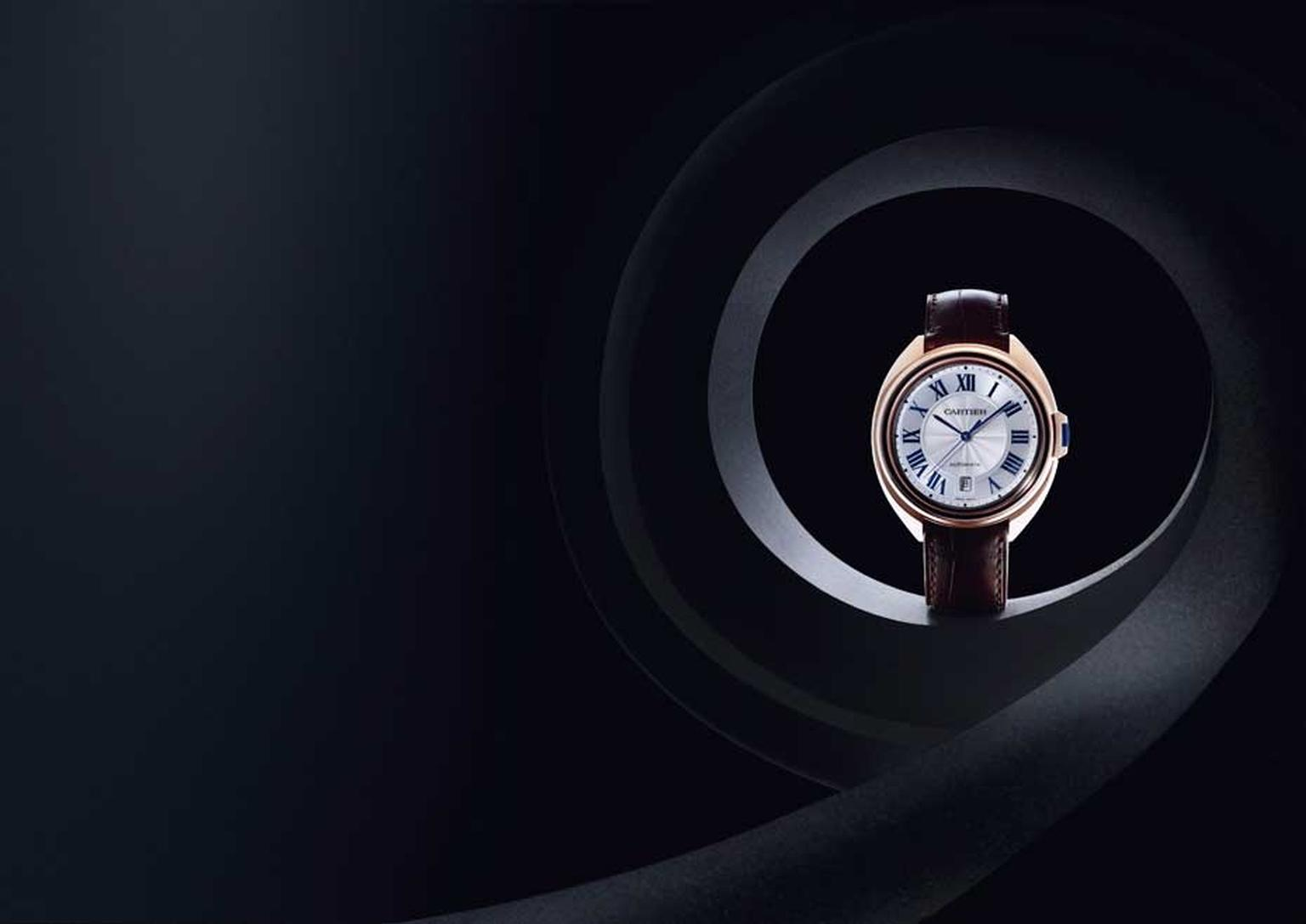 The challenge set by Cartier's designers was to create a new case based on a perfect circle.  (Eric Maillet © Cartier)