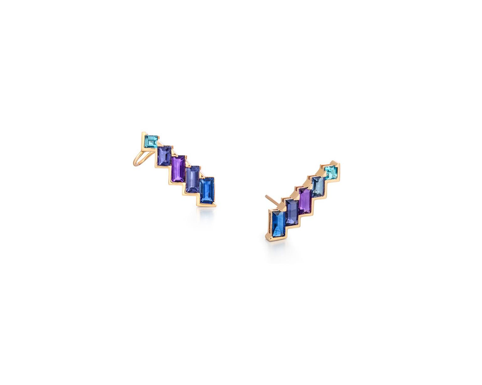 Earring cuffs from Tomasz Donocik's Electric Night collection.
