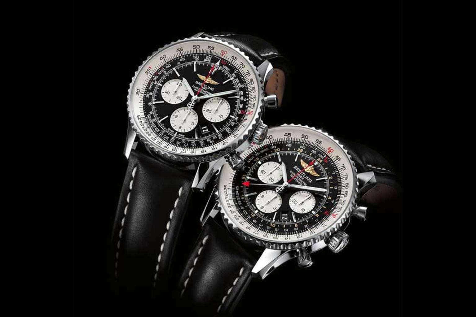 The Breitling Navitimer watch of 1952, combining chronograph functions with a navigation computer capable of handling all calculations of a flight plan, was quickly adopted by professional pilots and would become a hallmark model of the house thanks to it