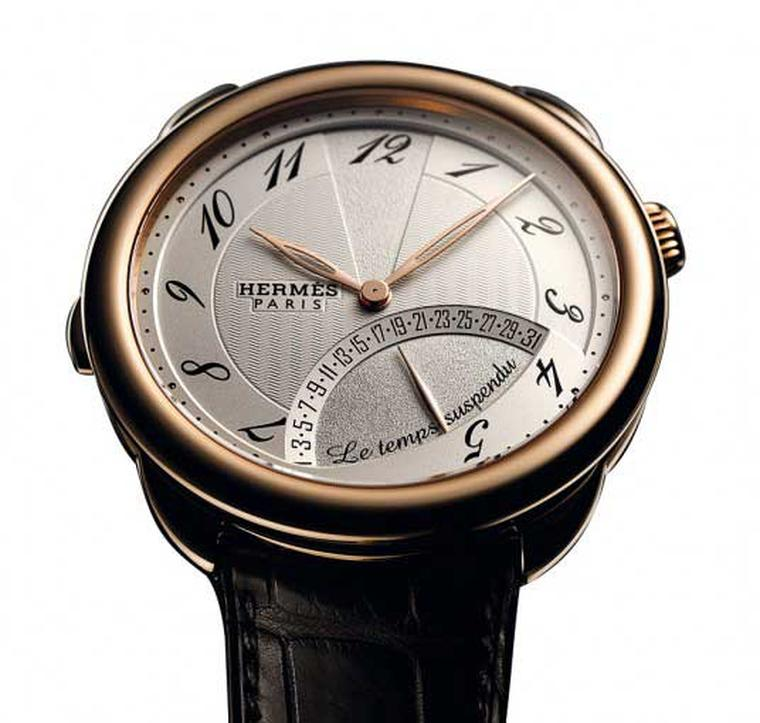 Hermès Le Temps Suspendu will stop time for however long you want. When you want to consult the time again, the real world can be summoned at the press of a button, without sacrificing a second of precision.