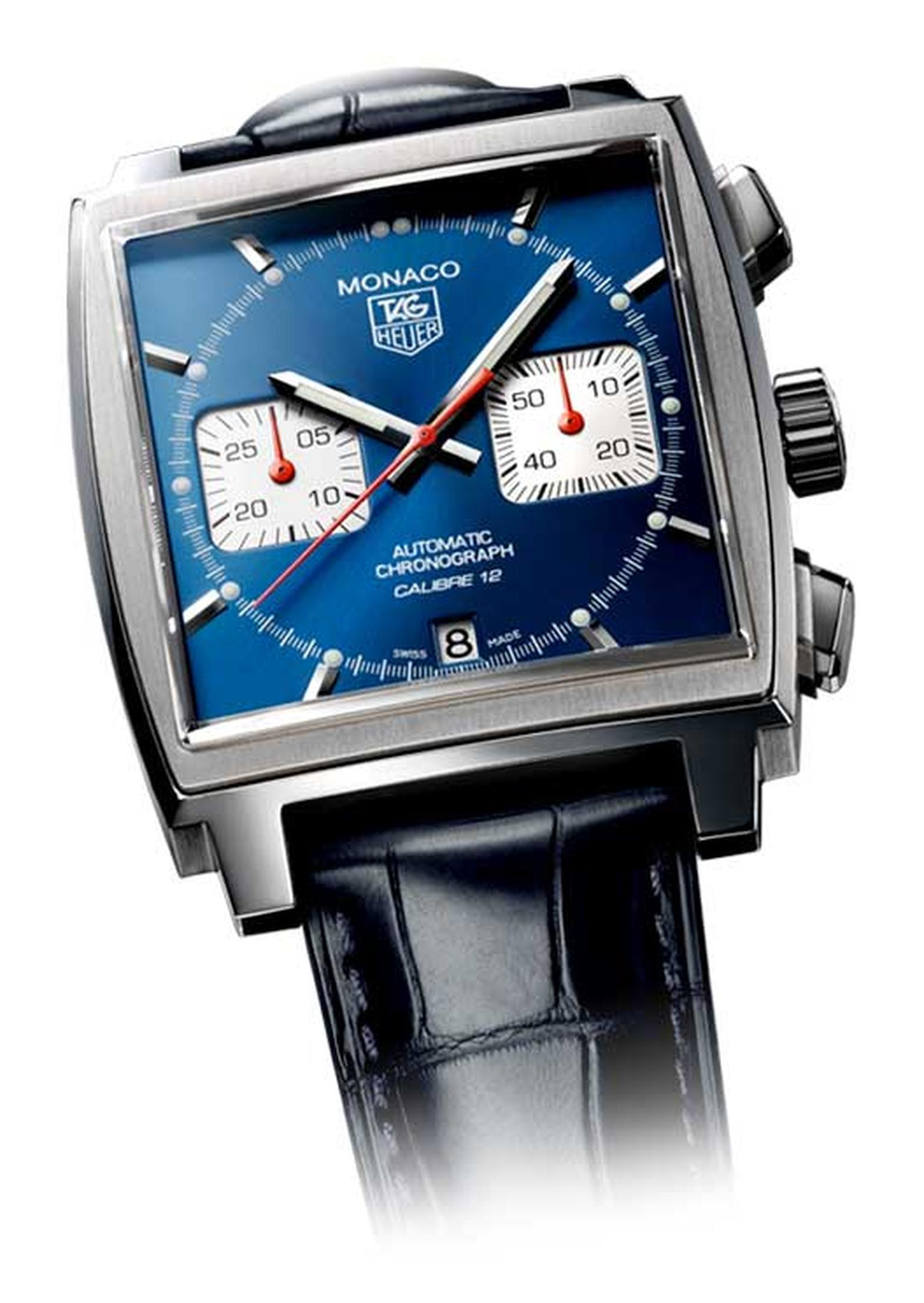 The TAG Heuer Monaco was the world's first square chronograph and the first square-shaped, water-resistant case