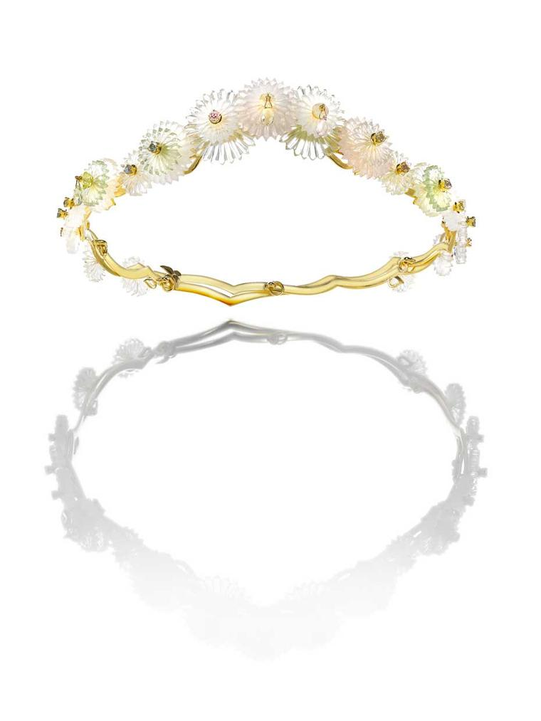 A tantalising tiara from Alice Cicolini heralds a new fine jewellery collection