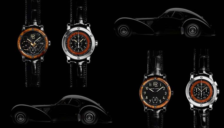 Ralph Lauren watches: inspired by Bugatti