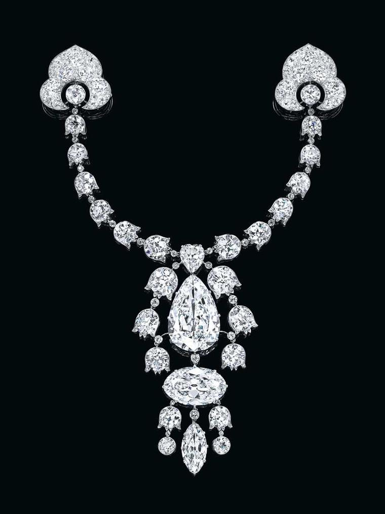 The top 10 jewels sold by Christie's auction house in 2014 includes this Belle Epoque diamond brooch by Cartier, which went under the hammer for $17.58 million.