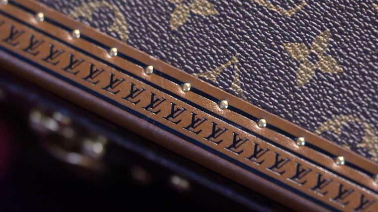 One of the most recognisable Vuitton icons is the Monogram flower and star pattern that first appeared in 1896.