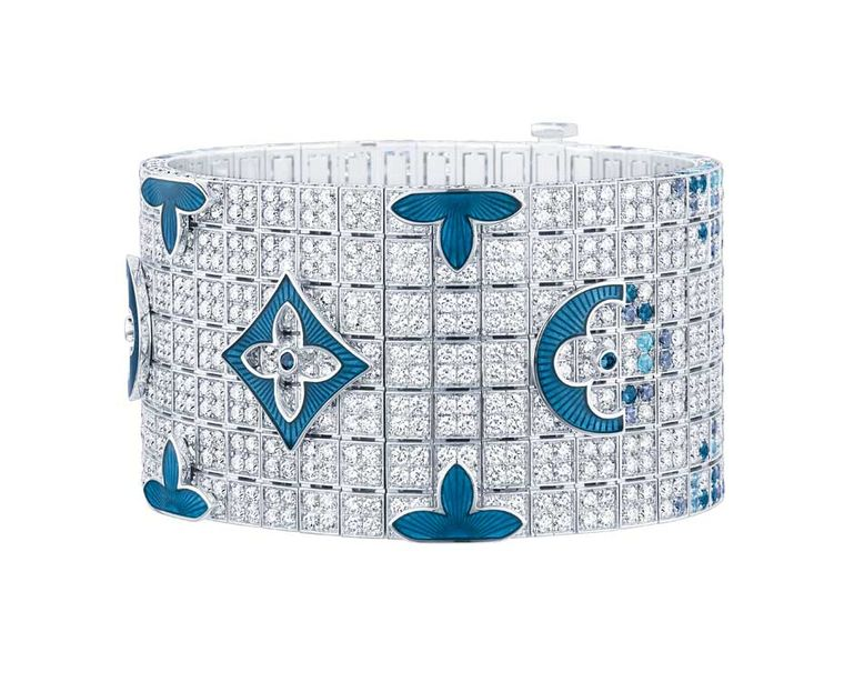 The Flash Forward cuff from Louis Vuitton's Voyage Dan le Temps collection.