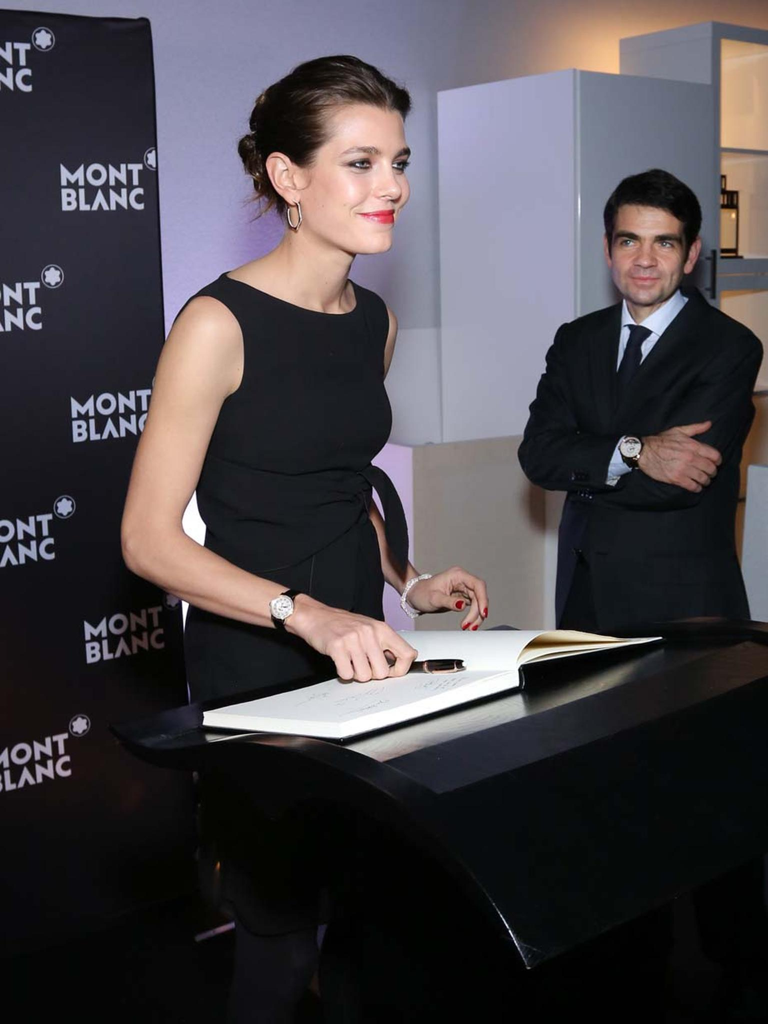 Charlotte Casiraghi is Montblanc's new global brand ambassador for timepieces, jewellery and writing instruments. The equestrian champion, writer and producer will appear in Montblanc's forthcoming advertising campaign.