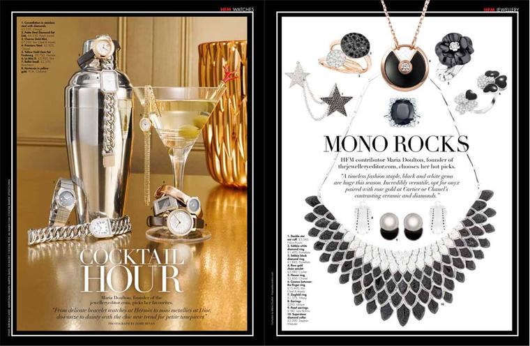 The Jewellery Editor collaborates with new Hello! Fashion magazine