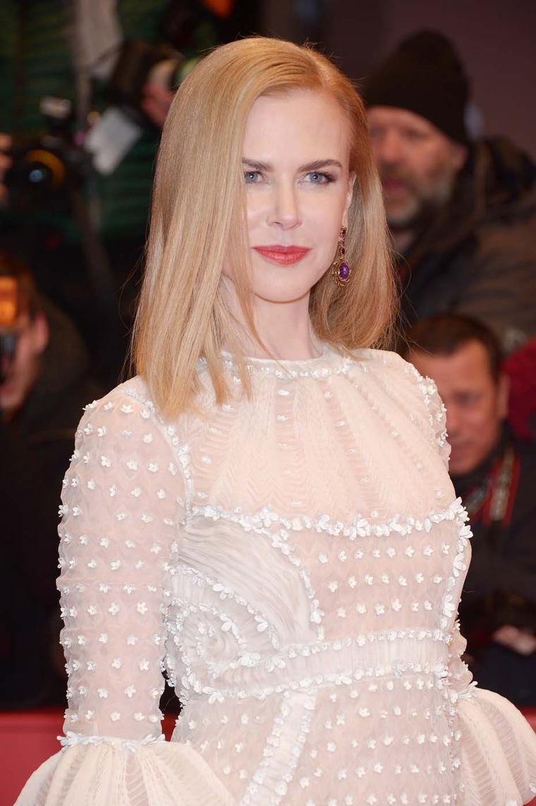 Pictured here at the Berlin Film Festival 2015 in a pair of elegant, early 19th century amethyst earrings, actress Nicole Kidman regularly wears Fred Leighton jewelry on the red carpet.