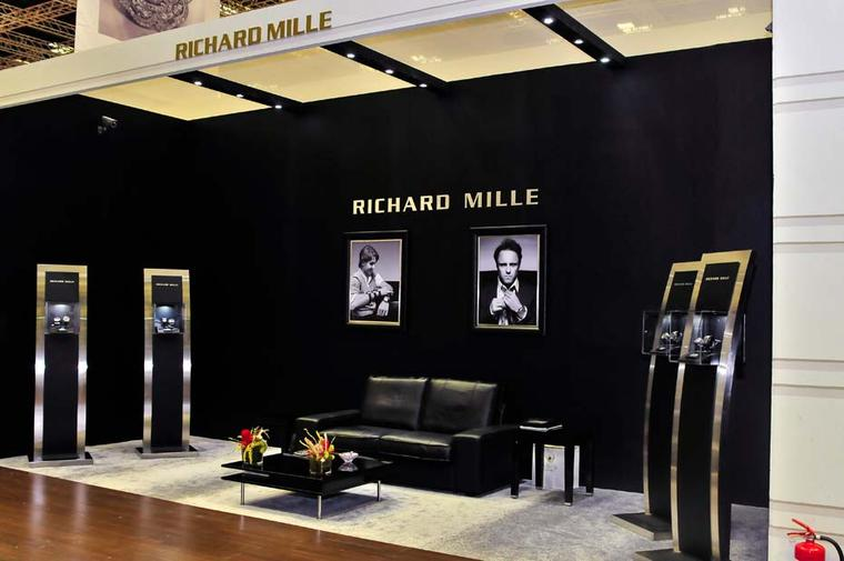 Richard Mille will be showing a selection of his luxury watches at the DJWE in Doha, which opens on 24 February.
